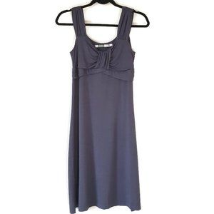 Athleta stretch jersey grey dress size small